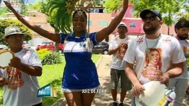 Bloco Nega Maria entra para o calendário do carnaval de Juiz de Fora - Com rainha, bateria de escola de samba e com a cantora Sandra Portela, o bloco vai para as ruas no dia 12 de fevereiro.