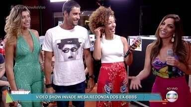 Ex-BBB Anamara revela que está solteira - Franciele e Diego falam sobre o casamento depois do BBB14 e prometem um filho para 2018