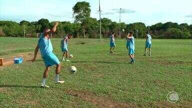 Piauí apresenta novo lateral, o Davi, para o Campeonato Piauiense - Piauí apresenta novo lateral, o Davi, para o Campeonato Piauiense