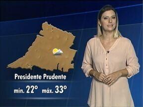 Confira a previsão do tempo para o Oeste Paulista - Veja como ficam as temperaturas na região.