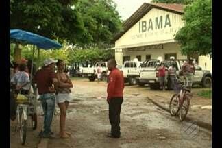Em Altamira, manifestantes ocupam sede do Ibama - Os moradores pedem o cadastro e transferência das famílias para outras áreas.