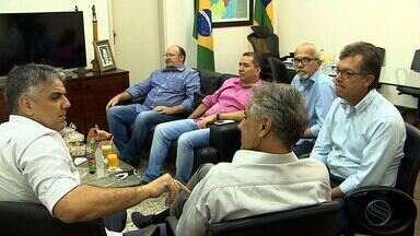 Candidatos que disputam a presidência da Câmara dos Deputados buscam apoio em SE - Candidatos que disputam a presidência da Câmara dos Deputados buscam apoio em SE.