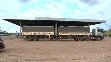 Agricultores e caminhoneiros no MA reclamam do aumento das despesas com o combustível - Agricultores e caminhoneiros do sul do estado que transportam a safra reclamam do aumento das despesas com o combustível.