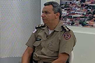 Comandante da 5ª Região de Polícia Militar fala sobre novo batalhão em Uberaba - Coronel Eliel Alves Júnior deu detalhes sobre a implantação do 67º Batalhão na cidade. Ele também falou sobre o efetivo de cada batalhão.