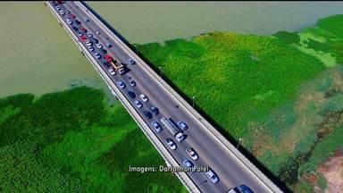 Quebra de caminhão deixou ponte Presidente Dutra engarrafada - O problema aconteceu na manhã desta sexta-feira