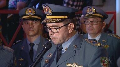 Polícia Militar do Amazonas tem novo comandante - Coronel Davi Brandão assumiu corporação nesta quinta-feira (19).