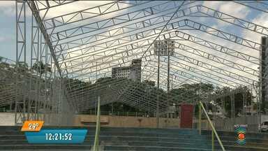 Começaram os preparativos para os encontros religiosos de Campina Grande - Os encontros religiosos da cidade acontecem durante o carnaval e reúnem grandes públicos.