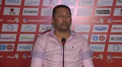 Campinense explica razões da demissão de Paulo Foiani - De acordo com Marquinhos Marabá, resultados da Raposa causaram a saída do treinador após três rodadas do Campeonato Paraibano
