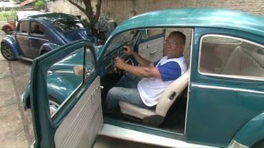 Apaixonados por 'fusca' falam do amor pelo modelo do carro - Hoje é o dia nacional do fusca.