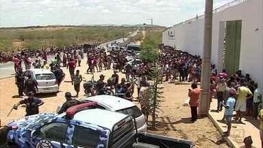 Rebelião deixa um preso morto e outros três feridos - Tumulto aconteceu no Presídio de Santa Cruz do Capibaribe.