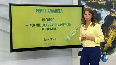 Prefeitos de cidades baianas e Sesab vão definir ações para controle da febre amarela - Bahia não tem nenhum caso registrado da doença, porém, 45 municípios está em área considerada de risco.