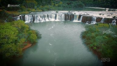 Descubra o Paraná: bem-vindo à Coronel Vivida! - O morador Jeferson Sachini guiou o 'Estúdio C' durante o passeio na cidade das cachoeiras