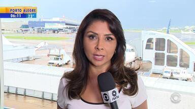 Equipamento que ajuda a orientar aeronaves será desligado temporariamente no Salgado Filho - Aparelho voltará a funcionar em junho.
