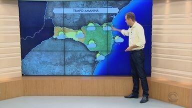 Confira a previsão do tempo para esta quinta-feira (2) - Confira a previsão do tempo para esta quinta-feira (2)