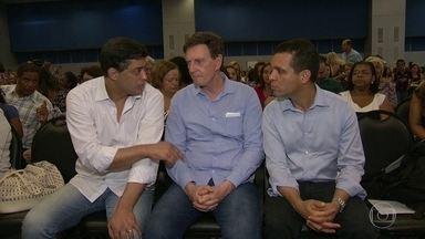 Crivella admite rombo de R$ 3 bi na Prefeitura - Fontes ouvidas pelo RJTV disseram que rombo é maior, chega a R$ 4 bilhões. Vereadores vão pedir explicações.