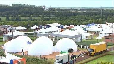 Começa a temporada das feiras de tecnologia e negócios de 2017 - Começa amanhã em Cascavel, no Paraná, uma das maiores feiras do agronegócio no país. É o Show Rural, que deve movimentar cerca de R$ 1,5 bilhão em negócios.