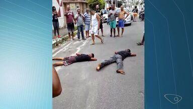 Mesmo com Exército nas ruas, Grande Vitória registra saques e arrombamentos - Vídeos gravados por populares mostram a ação de criminosos.