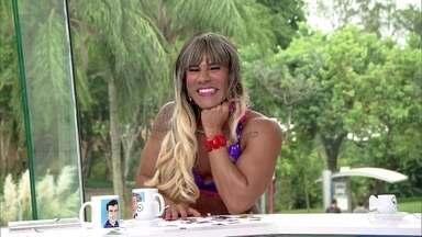 Carol Paixão é a nova repórter do 'Vídeo Show' - Repórter já chega causando e promete muitas novidades!