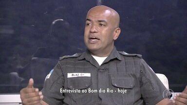 Porta voz da Polícia Militar falou ao Bom Dia Rio sobre o movimento - Assista a seguir.