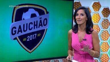 Globo Esporte RS - Bloco 1 - 10/02 - Assista ao vídeo.