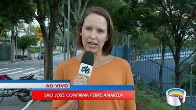 São José confirma primeiro caso de febre amarela - Vítima, que passa bem, é uma mulher de 53 anos.