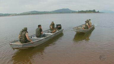 Polícia de Meio Ambiente faz operação de combate à pesca ilegal em Alfenas (MG) - Polícia de Meio Ambiente faz operação de combate à pesca ilegal em Alfenas (MG)
