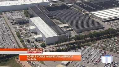 Ford e Volkswagen anunciam medidas de economia nas fábricas de Taubaté - Medidas atingem diretamente os trabalhadores.