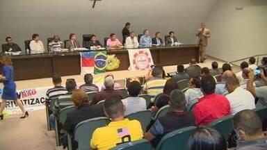Privatização da Eletrobras é tema audiência publica em Manaus - Trabalhadores e parlamentares são contra a privatização.