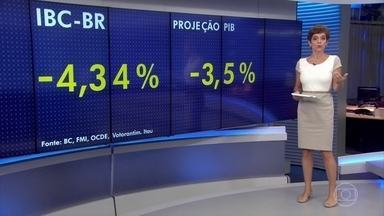 Índice de atividade do Banco Central mostra retração da economia brasileira em 2017 - Isso é bem pior do que o mercado e organismos internacionais estão prevendo para o resultado fechado de 2016, que será divulgado pelo IBGE no início de março.
