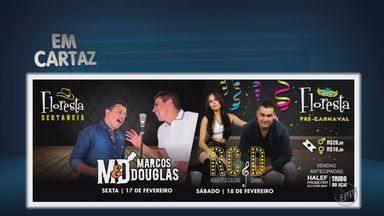 Quadro 'Em Cartaz' traz dicas de shows e eventos para o fim de semana no Sul de Minas - Quadro 'Em Cartaz' traz dicas de shows e eventos para o fim de semana no Sul de Minas