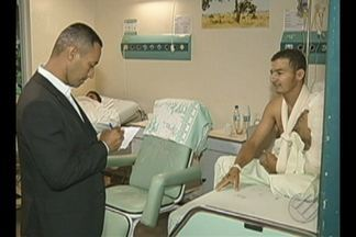 Maioria dos leitos do Hospital de Marabá é ocupado por vítimas de acidente de trânsito - Em média, esse tipo de paciente fica internado na unidade por cerca de três meses.