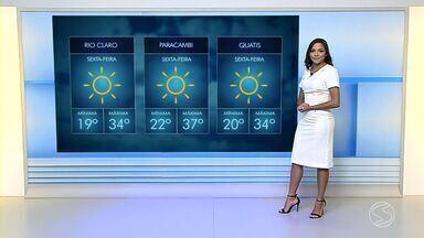 Confira a previsão do tempo para esta sexta-feira no Sul do Rio de Janeiro - Fique por dentro de como fica o clima nas cidades da região.