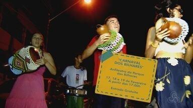 'Carnaval dos Bilhares' é opção de lazer para o fim de semana - Festa acontece no Anfiteatro do Parque dos Bilhares.