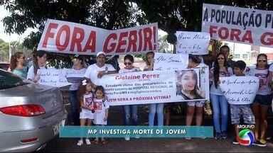 MPE abre inquérito para apurar morte de jovem em hospital de Ponta Porã - Gislaine Costa Peres morreu dia 29 de janeiro, um dia após ter dado entrada no hospital com pé quebrado.