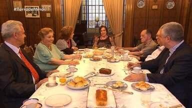 Academia Mineira de Letras é ponto de encontro de escritores há várias gerações - No espaço, também são feitas diversas discussões culturais.