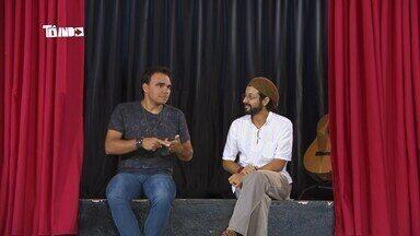 Tô Indo desembarca em Pimenta, no Centro-Oeste de MG - Mário conhece músico Charles Abraão