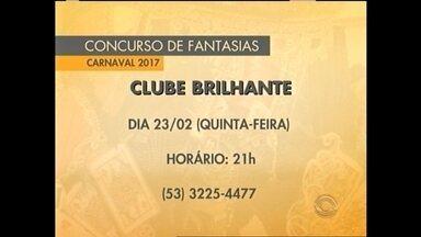 Clubes sociais de Pelotas se mobilizam para concursos de fantasia - As inscrições estão abertas para os concursos de fantasias em Pelotas