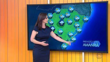 Tempo: RS pode ter pancadas de chuva ao longo do domingo (19) - Temperaturas seguem altas no estado.