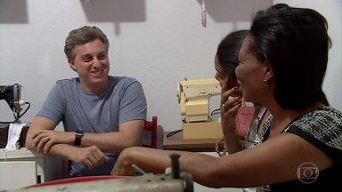 Caldeirão ao Cubo: Relembre a história de Vanilda - Luciano Huck vai até Belo Horizonte no quadro 'Um Por Todos, Todos Por Um'