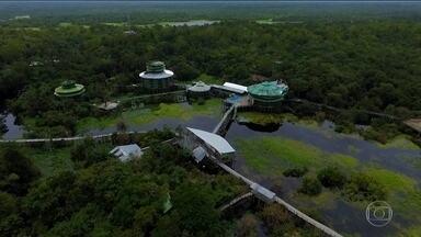 Fantástico - edição de 19/02/2017 - Fantástico visita ruínas do hotel que foi um símbolo do turismo de luxo na Amazônia. Números mostram que mais de cem milhões de brasileiros não tem acesso à rede de esgoto no Brasil. E mais as notícias do dia. É Fantástico.