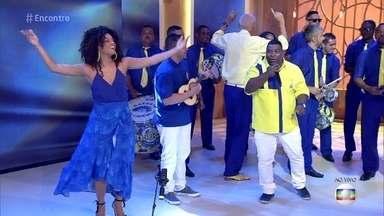 Unidos da Tijuca apresenta seu samba-enredo - A rainha de bateria Juliana Alves apresenta a escola e contagia o público
