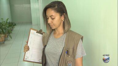 Procedimento de vistoria por agentes de endemia tem mudanças em Araraquara - Agora, quem receber os agentes em casa deve preencher um cadastro com mais detalhes.