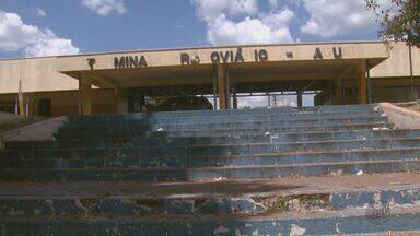 Rodoviária de Aguaí, SP, está em situação de abandono - Banheiro do local está em péssimas condições e não pode ser usado.