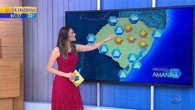 Tempo: final de semana será de sol no RS - Há possibilidade de pancadas de chuva apenas no Norte do estado.