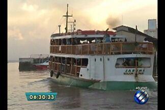 Passageiros reclamam de suposta superlotação em navio que vai para o Marajó - Segundo a Arcon, foram vendidos 243 bilhetes dos 250 disponíveis