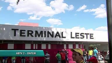Terminal leste funciona normalmente durante o período de carnaval em Caruaru - Decisão da Destra foi tomada depois que loteiros fizeram um protesto em frente ao terminal.