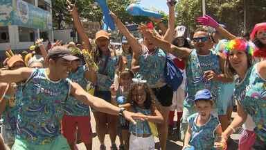 Bloco Happy abre os desfiles neste sábado (25) no circuito da Barra/Ondina - A criançada caiu na folia.