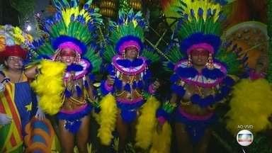 Seis escolas de samba abrem os desfiles do Grupo Especial no Rio - O Paraíso do Tuiuti está animado, na segunda vez que vai desfilar na elite do carnaval carioca.