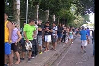 Moradores procuram postos de vacinação no Carnaval - Mais de 3.500 já foram imunizadas contra a febre amarela na Grande Belém.