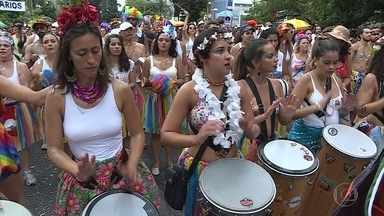 Blocos levam jazz e axé para as ruas de Belo Horizonte - Magnólia e Juventude Bronzeada reuniram milhares de foliões.